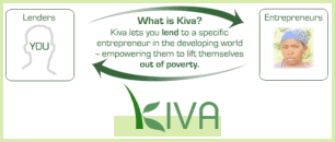 Supporting Kiva