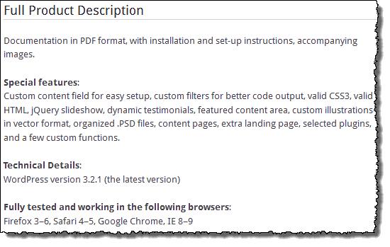 Flapps WordPress Landing Page Theme Product Description
