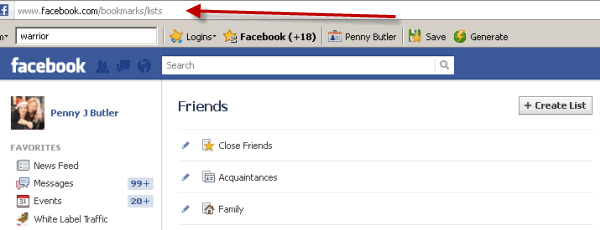Delete Multiple Friends on Facebook with new Timeline