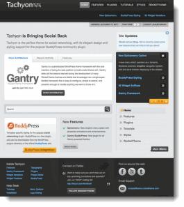 Tachyon WordPress Theme
