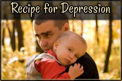 Recipe for Depression: How to train your mind to seek solutions & be your own saviour