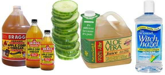 Natural Skin Toner – Apple Cider Vinegar