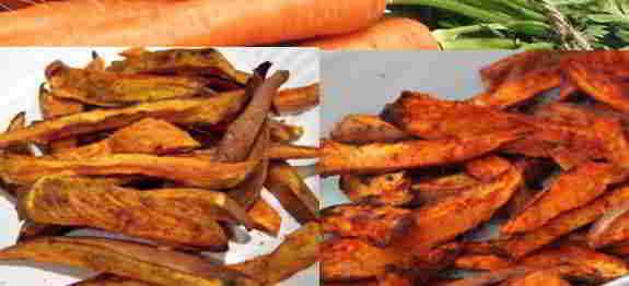 Sweet Potato and Carrot Fries