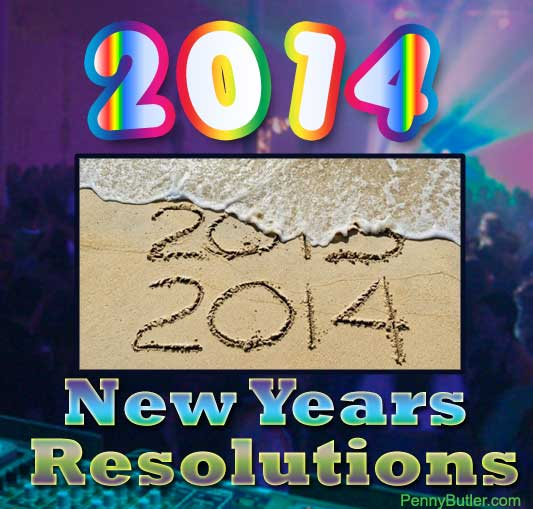 My New Years Resolutions ~ 2014