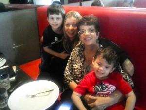 ChiliPadi Birthday Lunch with Nephews, Sis (taking photo) and Mum