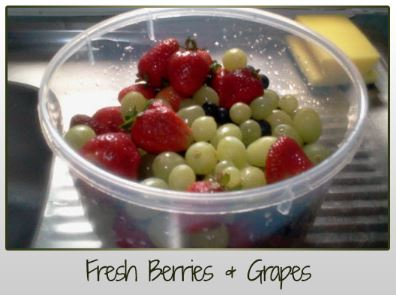 Fresh Berries & Grapes