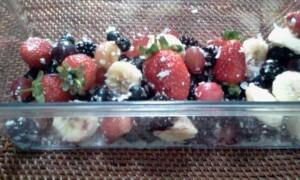 Fruit Salad Coconut Flakes