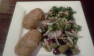 Hake Salad Olives