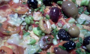 Healthy Pizza Close-up