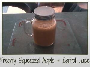 Apple Carrot Cucumber Lemon Ginger Juice