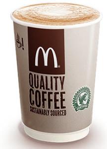 McDonalds Standard Latte
