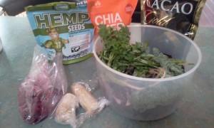 Salad Seeds Banana for Smoothie