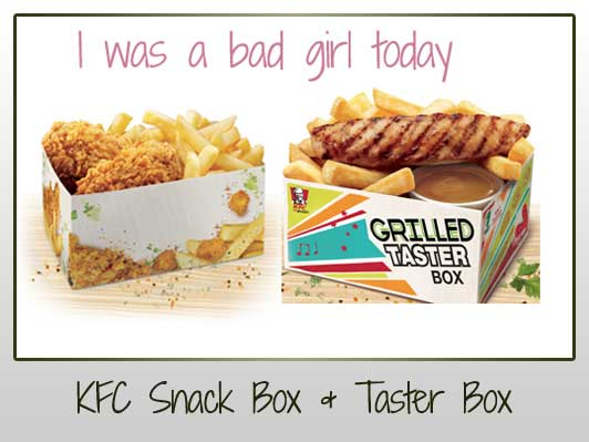KFC Snackbox KFC Taster Box