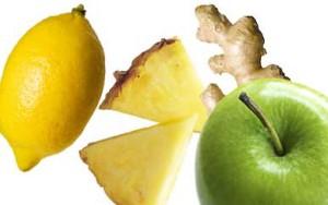 Lemon Pineapple Ginger Apple