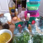 Lunch Ingredients