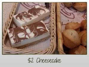 $2 Cheesecake