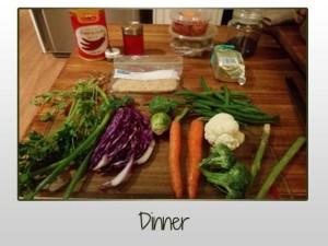 Mashed & Steamed Veg, Chicken Tender
