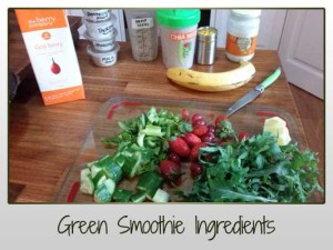 Thick Green Smoothies