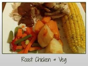 Roast Chicken & Veg