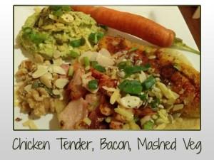 Tender, Bacon, Mash