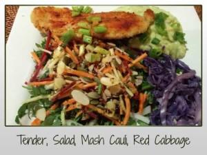 Tender Salad Mash