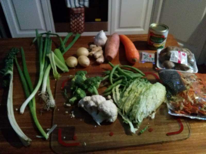 Immune-Boosting Soup (Ingredients)