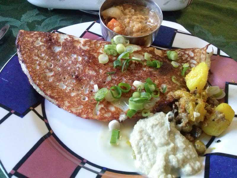 Indian Pancake (Dosa)