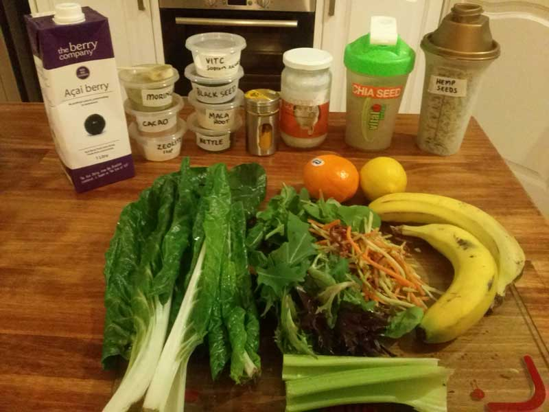 silverbeet-acaiberry-smoothie-ingredients