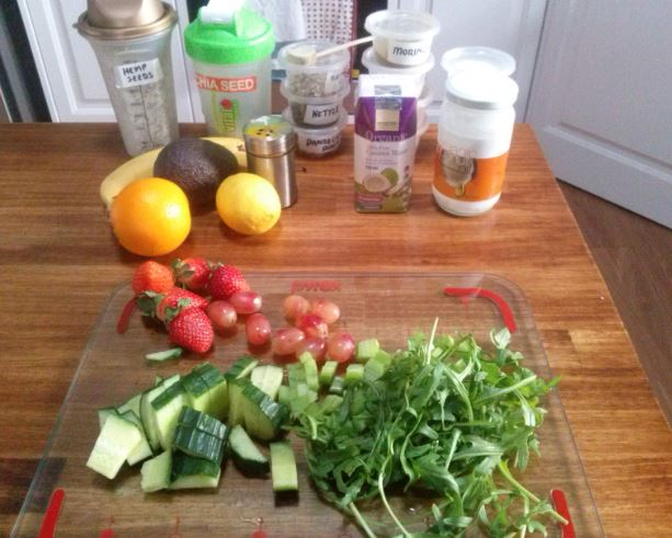 August 1st Green Smoothie
