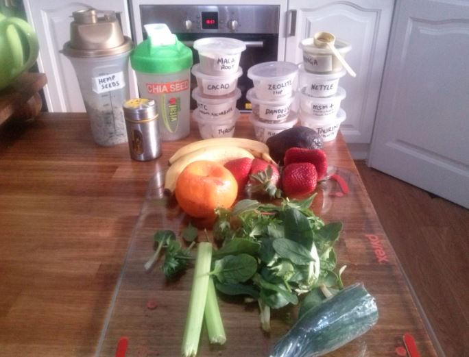 August 16th Green Smoothie