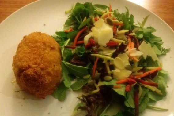 Mini Kiev, Salad
