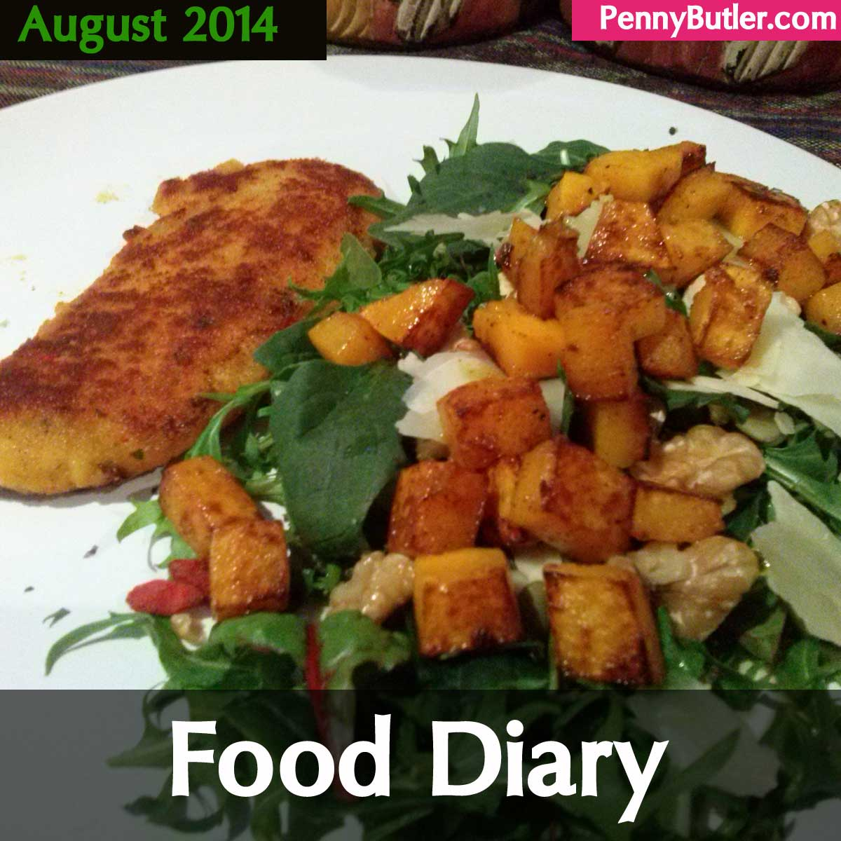 August Meals [Food Diary]