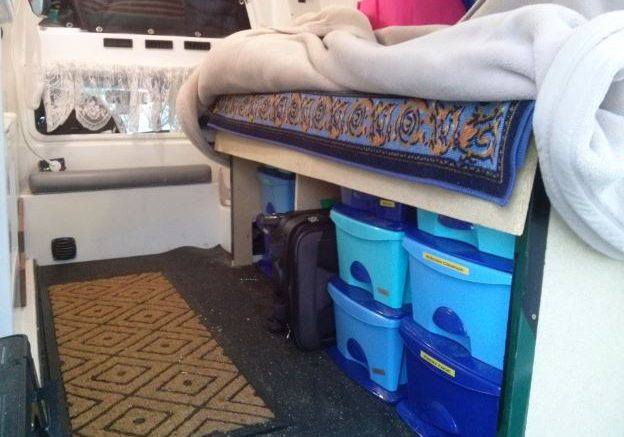 Update on Home-R (Tour of Progress on my Campervan)