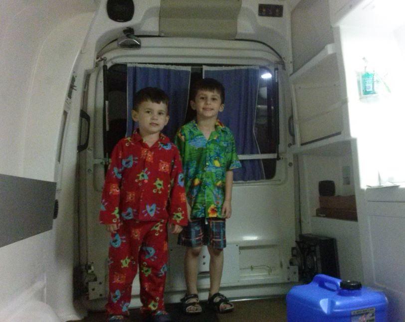 Nephews move in
