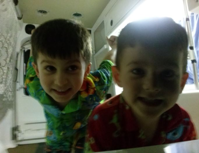 Nephews Excited