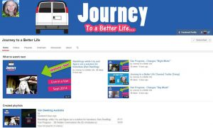 Journey to a Better Life YouTube Channel