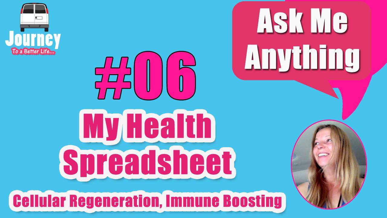 QA #6 – How I Boost my Immunity & Regenerate my Cells