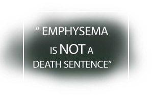 Emphysema - the beginning