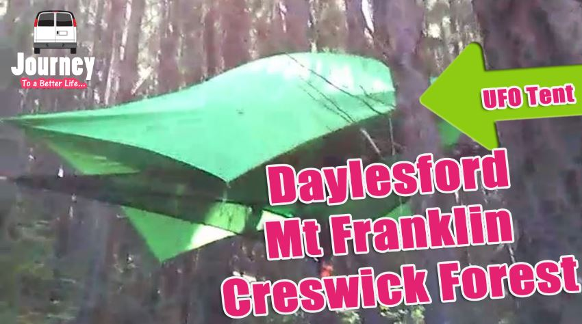 Roadtrip & Campsite Tours: Daylesford - Mt Franklin - Creswick Forest