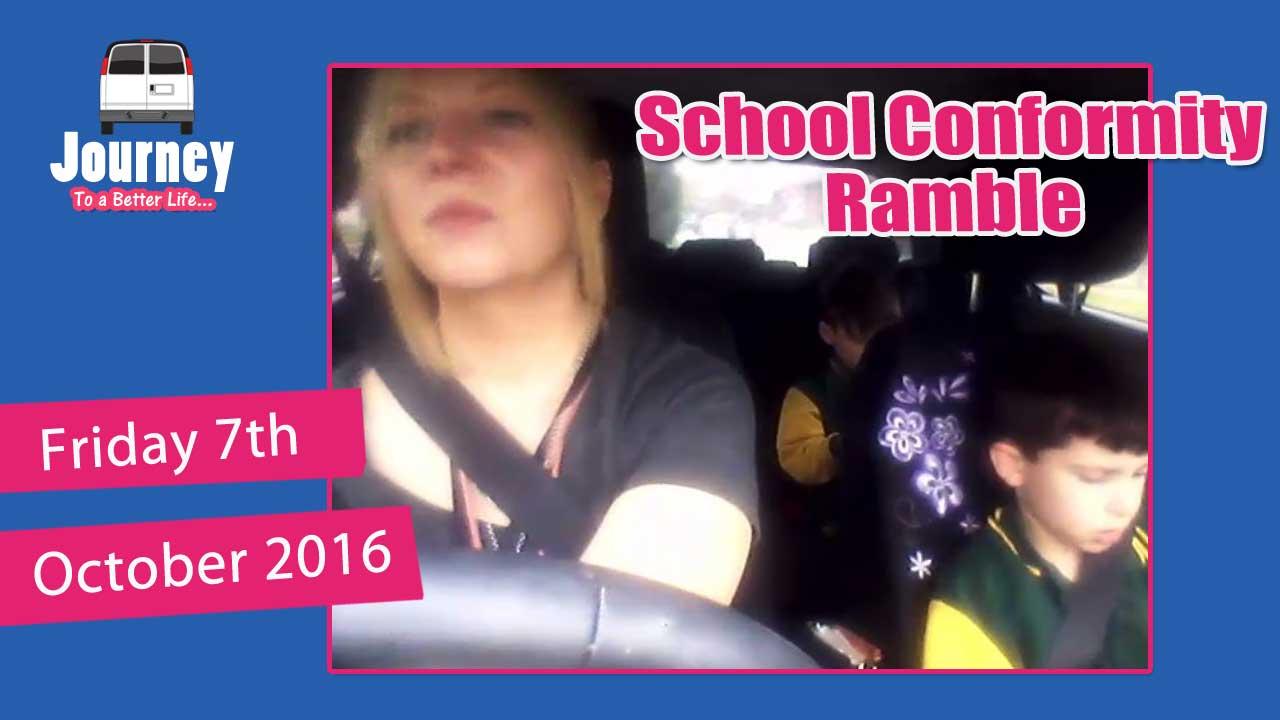 Boring Slow Ramble about School Conformity