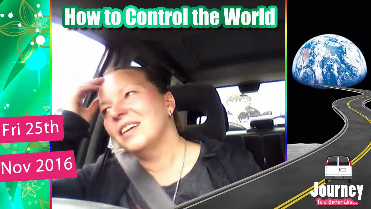 How to control the world