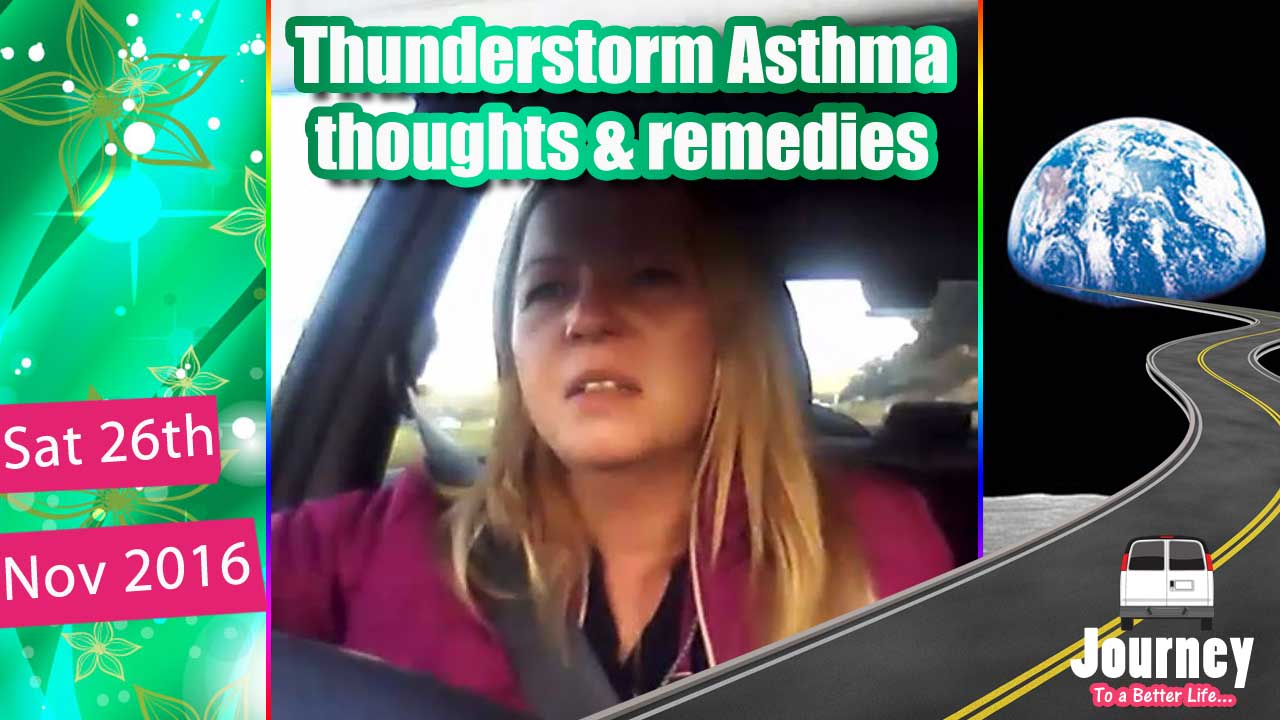 Thunderstorm Asthma - questioning cause & natural remedies