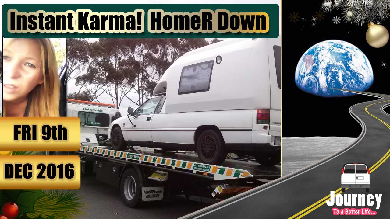 Instant Karma - HomeR is Down [Just whinging]
