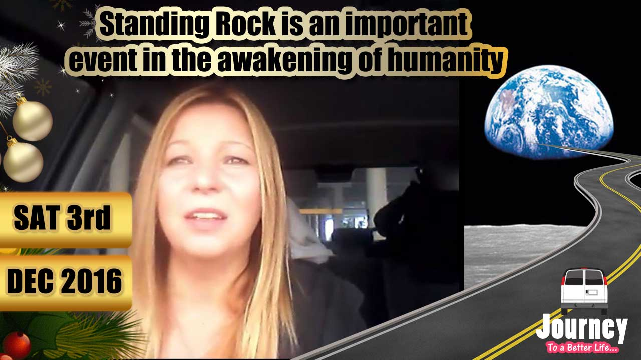 Standing Rock is an important  event in the awakening of humanity #FindTheOthers