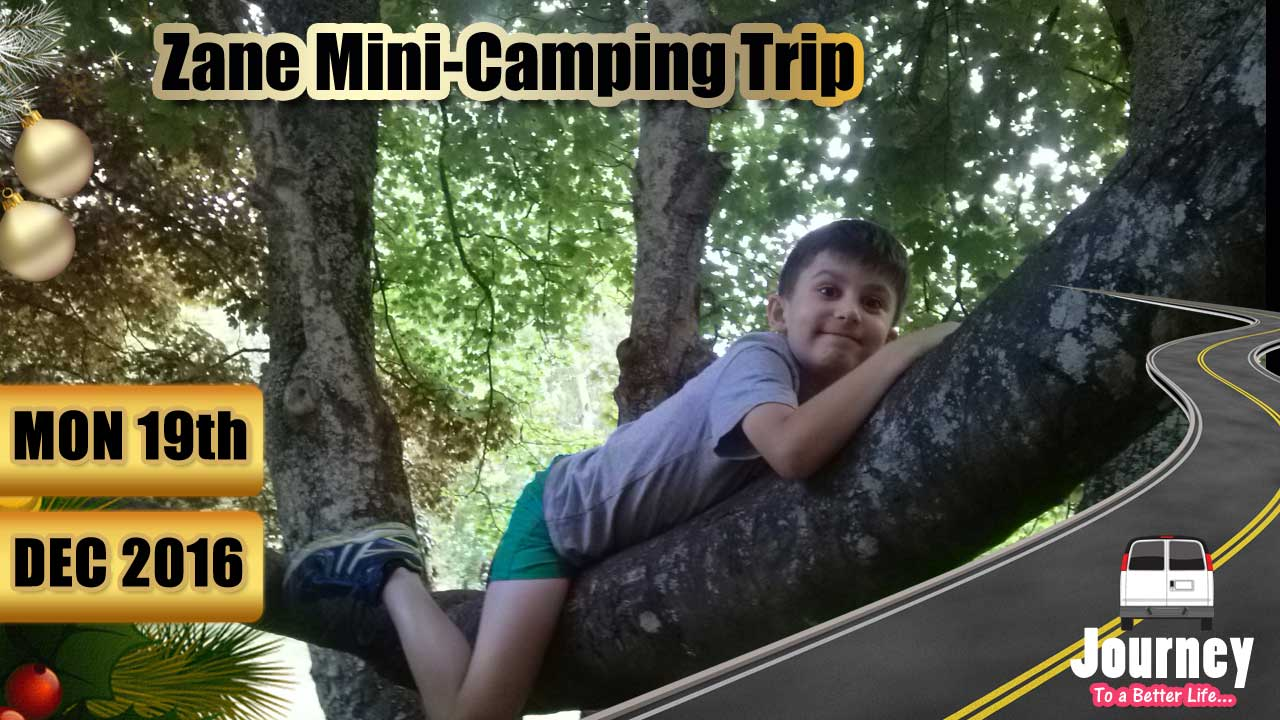 Mini-Camping trip with Zane