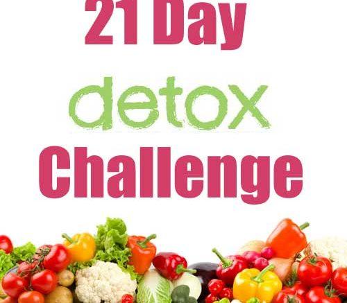 21 Day Detox/Vitality Habits Self-Challenge
