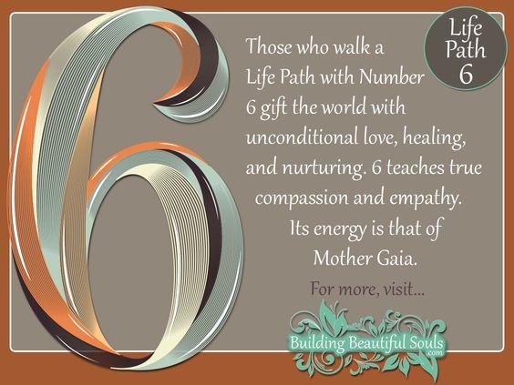 Lifepath - Number Six (6)