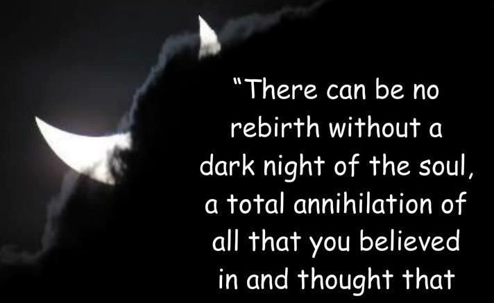Lessons from my Dark Night of the Soul