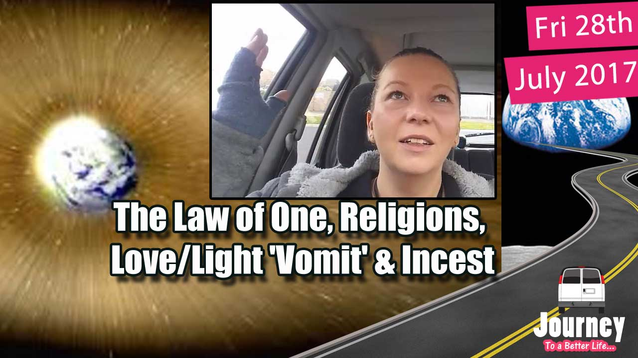 Law of One, Religions, Love/Light 'Vomit', & Incest