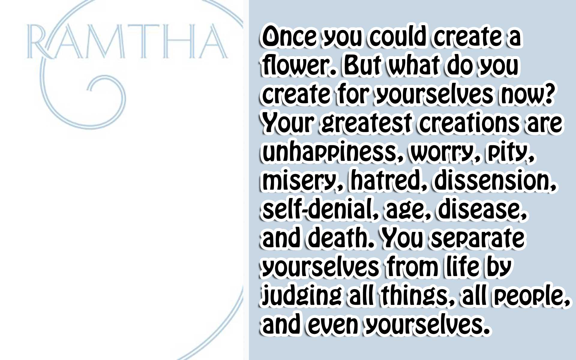 [Ramtha] The White Book 2 Who are you?